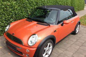MINI Cooper Cabrio 1.6i 16v Hot Orange